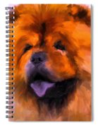 Chow Portrait Spiral Notebook