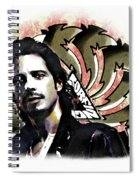Chris Cornell Spiral Notebook