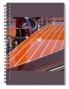 Chris Craft Bow Spiral Notebook