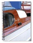 Chris Craft Enclosed Cruiser Spiral Notebook