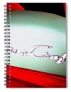 Chris Craft Illusion Spiral Notebook