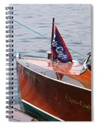 Chris Craft Runabout Spiral Notebook