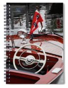 Chris Craft Sportsman Spiral Notebook