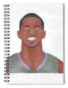 Chris Paul Spiral Notebook