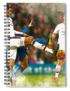 Chris Smalling  In Action  Spiral Notebook