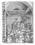 Christ Among The Doctors In The Temple 1503 Spiral Notebook