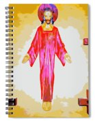 Christ And Crosses Spiral Notebook