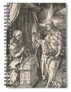 Christ Appearing To His Mother, From The Small Passion Spiral Notebook