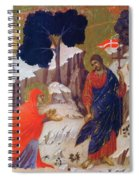 Christ Appearing To Mary 1311 Spiral Notebook