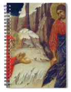 Christ Appearing To Mary Magdalene Fragment 1311 Spiral Notebook