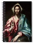 Christ As Saviour Spiral Notebook