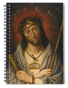Christ As The Man Of Sorrows Spiral Notebook