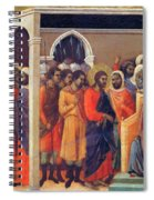 Christ Before Caiaphas 1311 Spiral Notebook