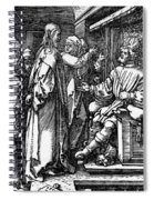 Christ Before Herod 1509 Spiral Notebook