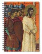 Christ Before Pilate Fragment 1311 Spiral Notebook