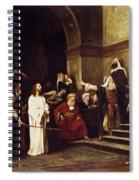 Christ Before Pilate Spiral Notebook