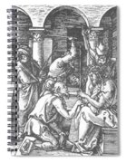 Christ Being Crowned With Thorns 1510 Spiral Notebook