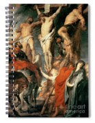 Christ Between The Two Thieves Spiral Notebook