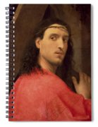 Christ Carrying The Cross Spiral Notebook