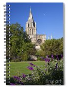 Christ Church Cathedral Oxford University Uk Spiral Notebook