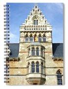Christ Church College Oxford Architecture Spiral Notebook
