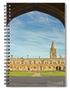 Christ Church College Oxford Spiral Notebook