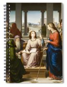 Christ Disputing With The Doctors In The Temple Spiral Notebook