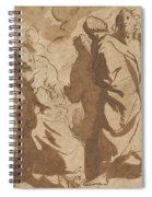 Christ Healing The Paralytic Spiral Notebook