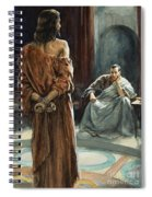 Christ In Front Of Pontius Pilate Spiral Notebook