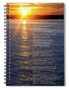 Christ In Me Arise Spiral Notebook