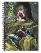 Christ In The Olive Garden Spiral Notebook