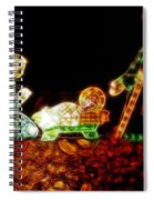 Christ Is Christmas Spiral Notebook