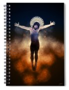 Christ Of The Cosmos Spiral Notebook