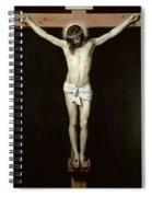 Christ On The Cross Spiral Notebook