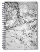 Christ On The Mount Of Olives 1524 Spiral Notebook