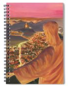 Christ Over Rio Spiral Notebook