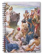 Christ Preaching From The Boat Spiral Notebook