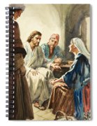 Christ Talking Spiral Notebook