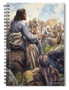Christ Teaching Spiral Notebook
