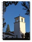 Christ The King Chapel Tower Spiral Notebook