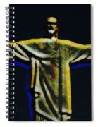 Christ The Redeemer - Rio Spiral Notebook