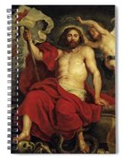 Christ Triumphant Over Sin And Death Spiral Notebook