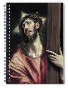 Christ With The Cross Spiral Notebook