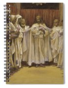 Christ With The Twelve Apostles Spiral Notebook