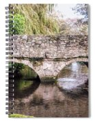 Christchurch - Bridge Over The Millstream Spiral Notebook