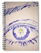 Christian Eye Spiral Notebook