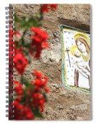 Christian Plaque Spiral Notebook