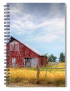 Christian School Road Barn Spiral Notebook