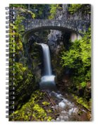 Christine Falls - Mount Rainer National Park Spiral Notebook