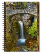 Christine Falls Through The Trees Spiral Notebook
